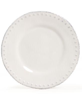 Maison Versailles Blanc Brigette Salad Plate