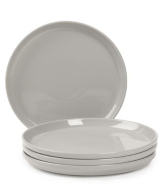 CLOSEOUT! Stax Living Dinnerware, Set of 4 Gray Dinner Plates