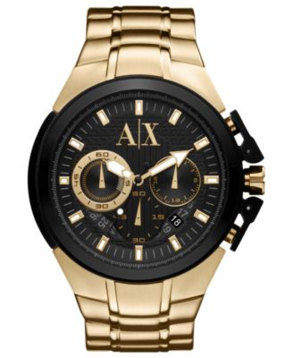 mens gold watches shop for s gold watches at macys