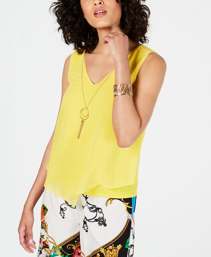 Thalia Sodi - Sleeveless Necklace Top, Created for Macy's