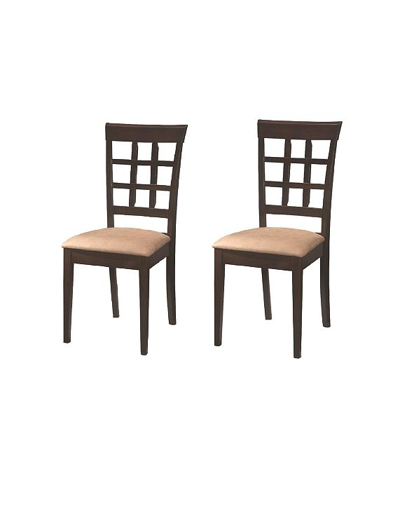 Coaster Home Furnishings Claremont Wheat Back Side Chairs (Set of 2)