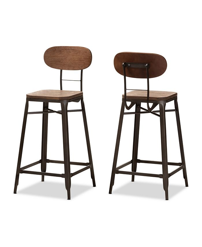 Furniture - Varek Bar Stool, Quick Ship