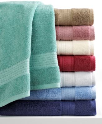 "Charter Club Bath Towels, Excellence Egyptian Cotton 13"" Square Washcloth"