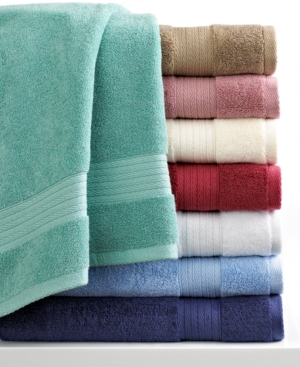 "charter club bath towels, excellence egyptian cotton 30"" x 60"" bath sheet"