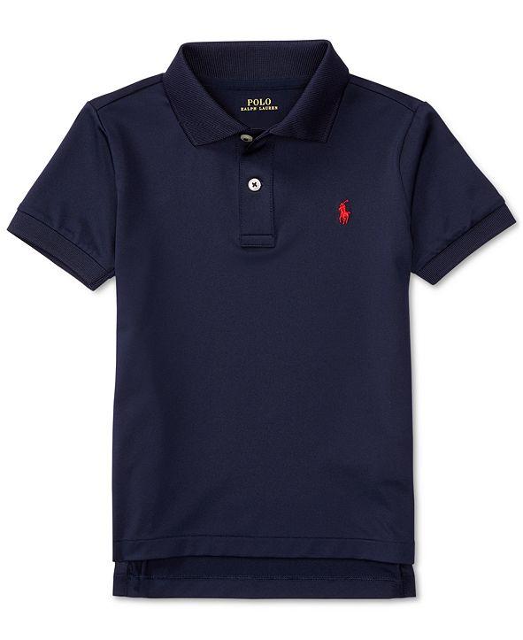 Polo Ralph Lauren Little Boys Moisture-wicking Tech Jersey Polo Shirt
