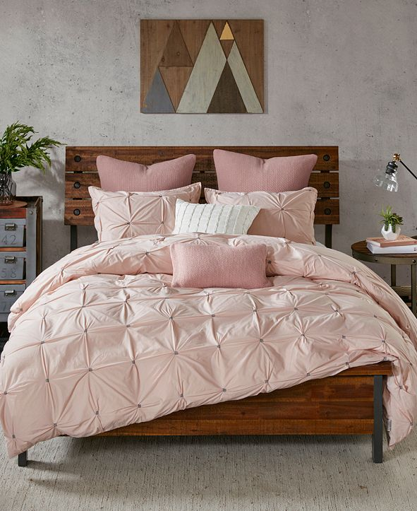 INK+IVY Masie 3-Pc. Full/Queen Cotton Comforter Mini Set