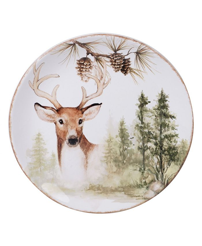 Certified International - Mountain Retreat Round Platter