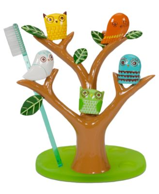 Accessories, Give a Hoot Toothbrush Holder