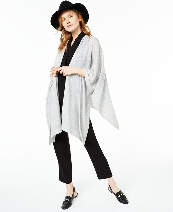 Charter Club - Solid Cashmere Wrap