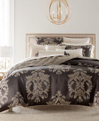 CLOSEOUT! Classic Flourish Standard Sham, Created for Macy's