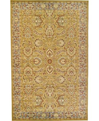 "Passage Psg9 Dark Yellow 10' 6"" x 16' 5"" Area Rug"