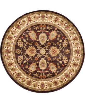 Passage Psg3 Brown 8' x 8' Round Area Rug