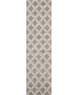 "Arbor Arb4 Gray 2' 7"" x 10' Runner Area Rug"