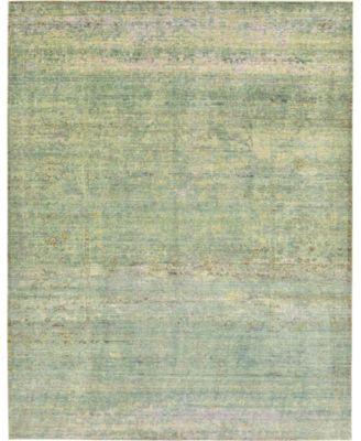 Malin Mal8 Green 9' x 12' Area Rug