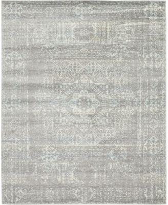 Wisdom Wis3 Silver 8' x 10' Area Rug