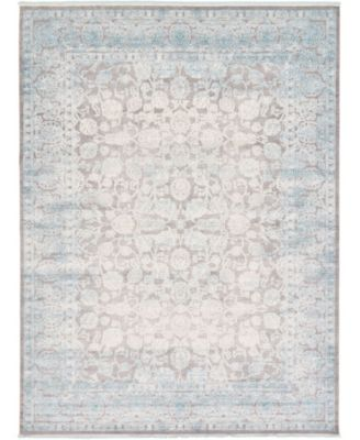 Norston Nor3 Blue 10' x 13' Area Rug