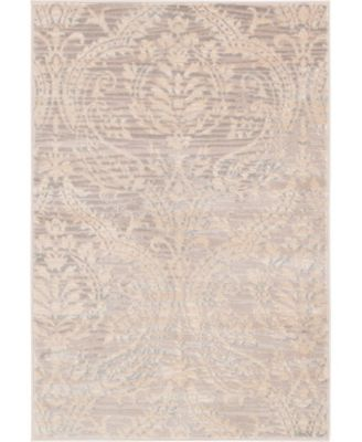 Caan Can5 Taupe 8' x 8' Square Area Rug