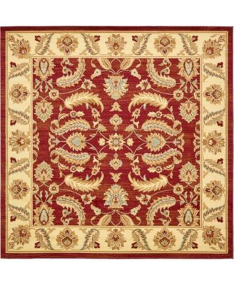 Passage Psg1 Red 10' x 10' Square Area Rug