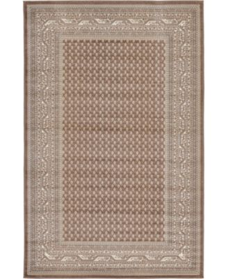 Axbridge Axb1 Brown 5' x 8' Area Rug