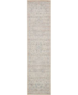 "Caan Can2 Taupe 2' 7"" x 10' Runner Area Rug"