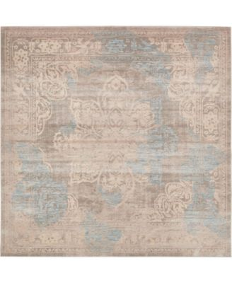 Caan Can4 Taupe 8' x 8' Square Area Rug