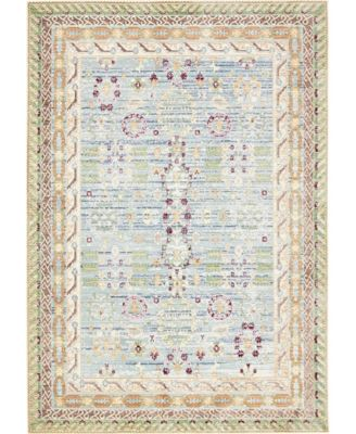 Malin Mal2 Blue 6' x 9' Area Rug
