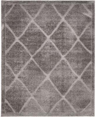 Filigree Shag Fil1 Dark Gray 8' x 10' Area Rug