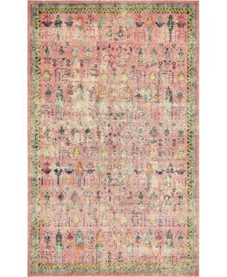 "Newhedge Nhg6 Pink 10' 6"" x 16' 5"" Area Rug"