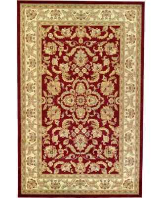 "Passage Psg5 Red 10' 6"" x 16' 5"" Area Rug"