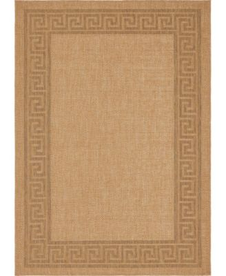 "Pashio Pas6 Light Brown 8' x 11' 4"" Area Rug"