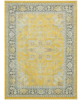 Kenna Ken1 Yellow 10' x 13' Area Rug