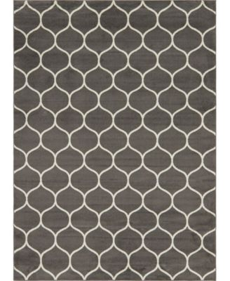 Plexity Plx2 Dark Gray 9' x 12' Area Rug