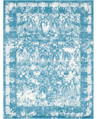 Mishti Mis3 Blue 8' x 10' Area Rug