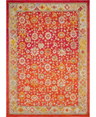 Lorem Lor3 Red 10' x 14' Area Rug