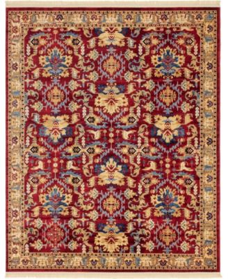 Borough Bor1 Red 8' x 10' Area Rug