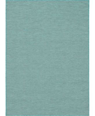 """Pashio Pas8 Turquoise 7' 5"""" x 10' Area Rug"""