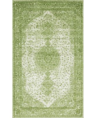 Mobley Mob1 Green 5' x 8' Area Rug