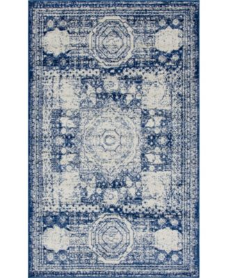 Mobley Mob2 Blue 5' x 8' Area Rug