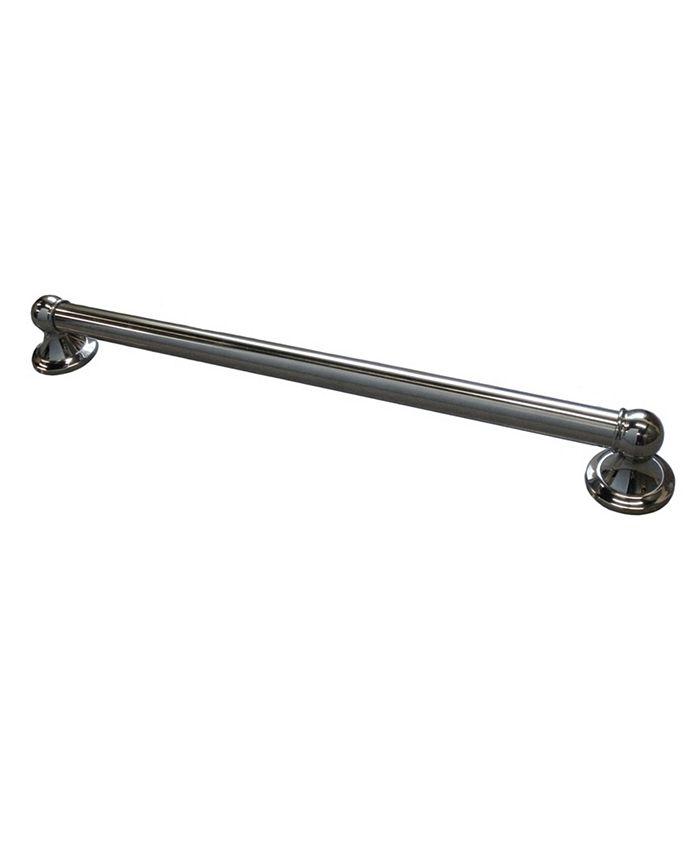 Arista Bath Products - 1820 Chrome Deco Grab Bar
