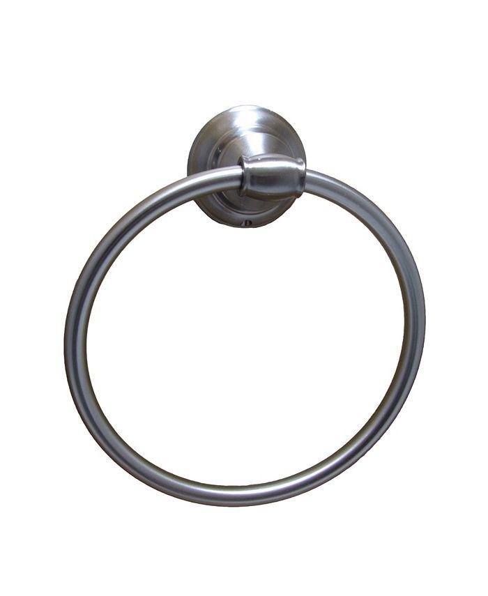 Arista Bath Products - Highlander Towel Ring SN