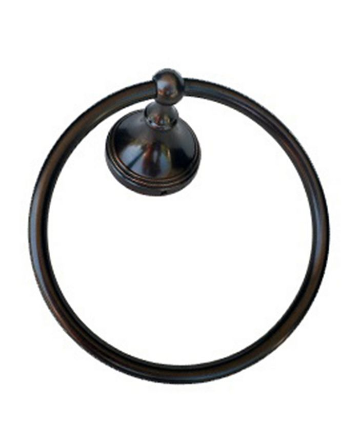 Arista Bath Products - Annchester Towel Ring ORB