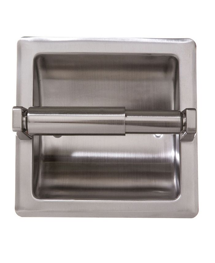 Arista Bath Products - Recessed TP Holder SN