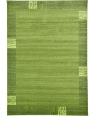 Lyon Lyo1 Green 7' x 10' Area Rug