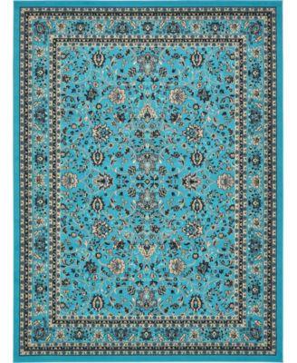Arnav Arn1 Turquoise 9' x 12' Area Rug