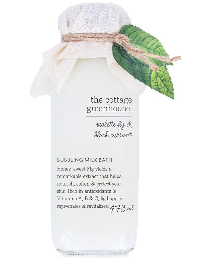 The Cottage Greenhouse - Violette Fig & Black Currant Bubbling Milk Bath, 16-oz.