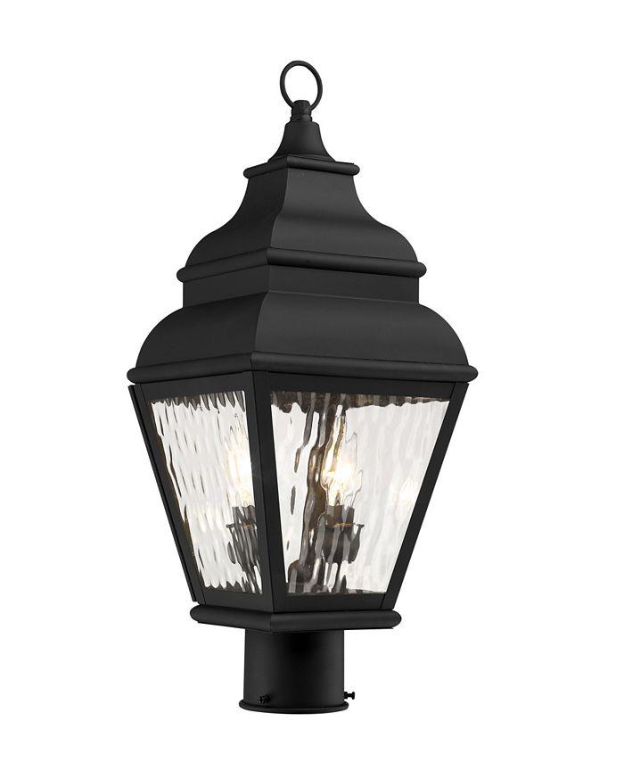 Livex - Exeter 2-Light Outdoor Post Lantern