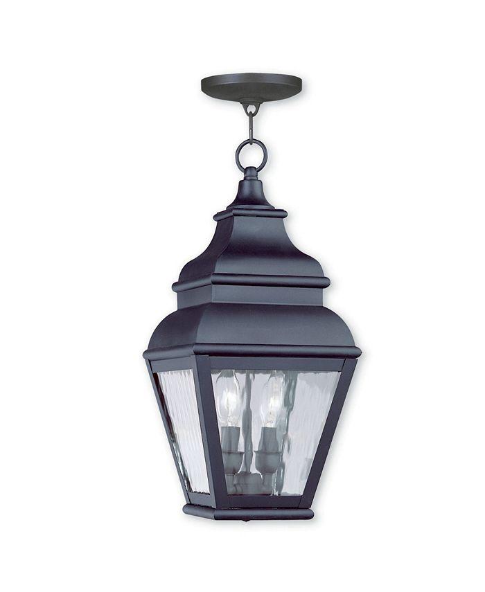 Livex - Exeter 2-Light Outdoor Chain Lantern