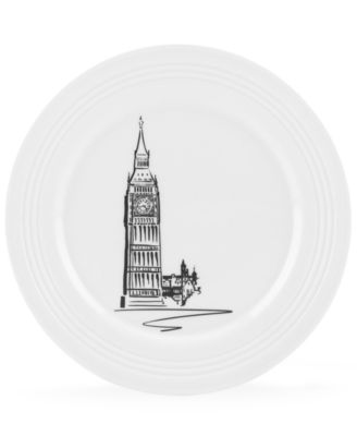 Lenox Dinnerware, Tin Can Alley London Accent Plate