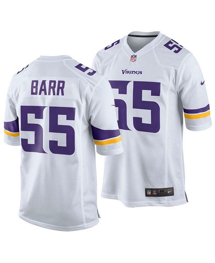 Nike Men's Anthony Barr Minnesota Vikings Game Jersey ...