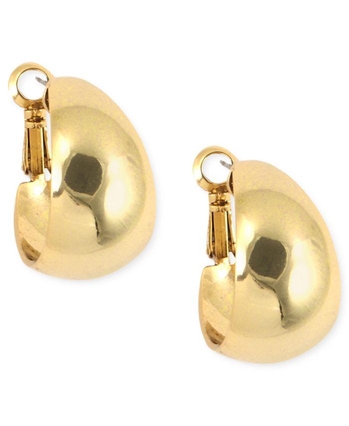 Anne Klein - Medium Band Hoop Earrings